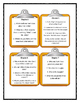 A to Z Mysteries THE CANARY CAPER - Discussion Cards