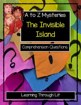 A to Z Mysteries THE INVISIBLE ISLAND Comprehension & Citi