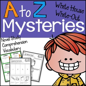 A to Z Mysteries White House White Out