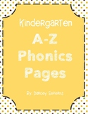 A to Z Phonics Worksheets