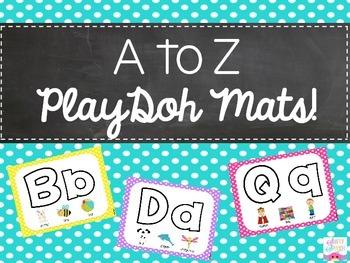 A to Z PlayDoh Mats