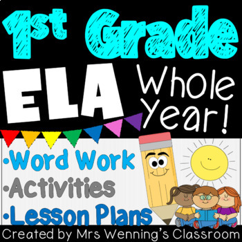 A Year of Lesson Plans, Activities, and Word Work! Mega Bundle!!!