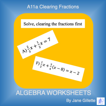 A11a Clearing Fractions