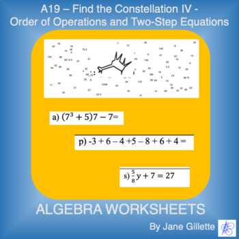 A19 - Find the Constellation IV