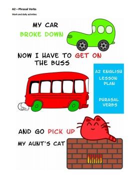 A2 Lower Intermediate English Lesson Plan - Phrasal Verbs