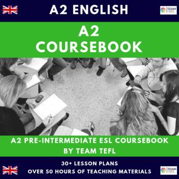 A2 Pre-Intermediate English Complete Course Book Lesson Pl