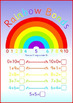A3 Rainbow Number Bonds to 10 Display Poster. Also Activit