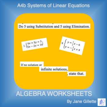 A4b Systems of Equations