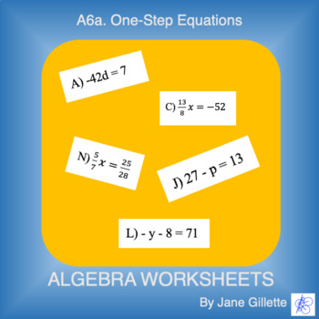 A6a One-Step Equations