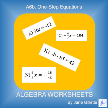 A6b One-Step Equations
