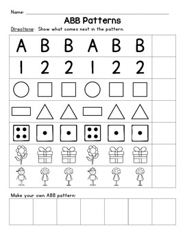 AAB and ABB Patterns