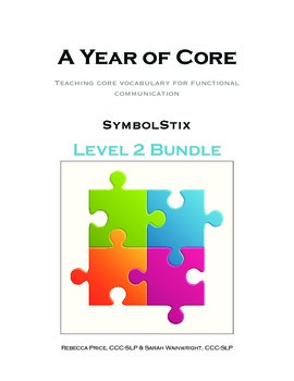 AAC A Year of Core Level 2 Bundle: SYMBOLSTIX - Word of th