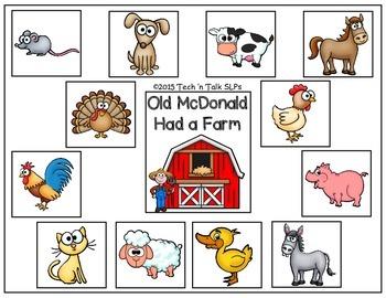 AAC Interactive Old McDonald Had a Farm