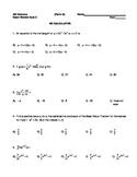 AB Exam Review Quiz 2