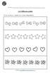 Pre-K Math - AB Patterns Worksheets