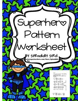 AB Patterns for Kindergarten