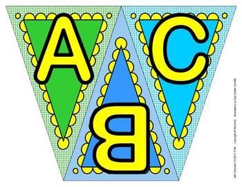ABC, 123 Pennants County Fair