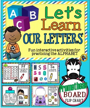 Alphabet Activities ~ Promethean Board Flip Chart