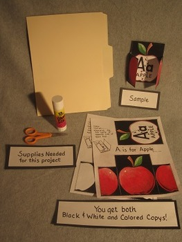 ABC Alphabet Art Projects Bundle. Fun Craft Art