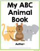 ABC Animal Book Template - Full Page