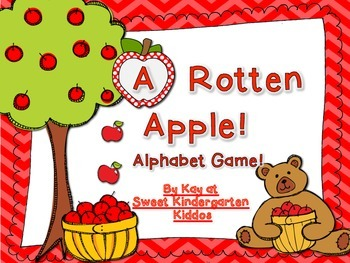 A Rotten Apple! Alphabet Game