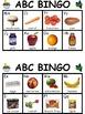 Grocery ABC Bingo