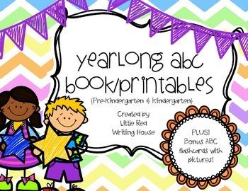 ABC Book & Printables {Landscape}