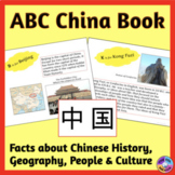 China ABC Book with Facts & Photos about Chinese Culture,