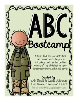 ABC Bootcamp Activities and Tools to Introduce the Alphabet