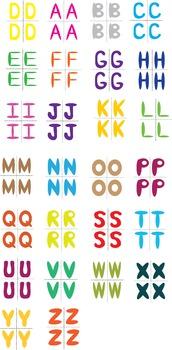 ABC Cards (4 sets)