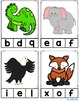 ABC Clip Cards {4 Different Versions}