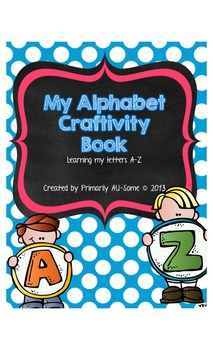 ABC Color, Cut, & Paste Craftivity Book