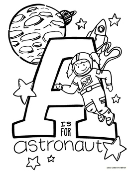 ABC Coloring Pages - Three coloring pages for all ages