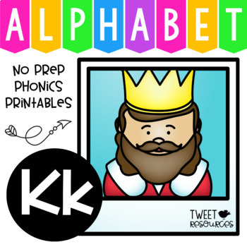 Alphabet Letter Of The Week K