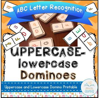 ABC Dominoes Uppercase to lowercase Alphabet Recognition