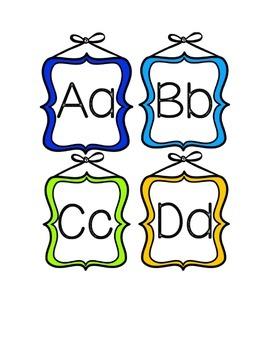 ABC Doodle Frames