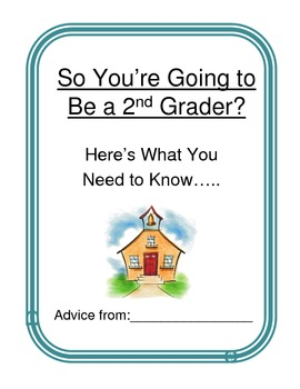 ABC End Of Year Advice Book 2nd grade