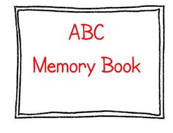 ABC End of the Year Memory Book