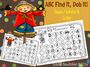 ABC Find It, Dob It Scarecrow!