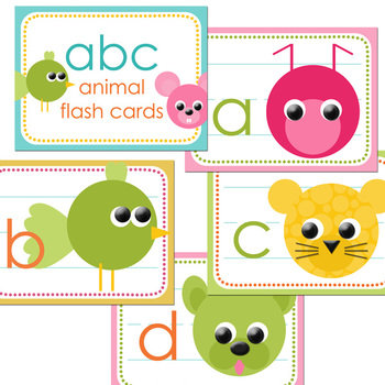 ABC Flash Cards and PowerPoint
