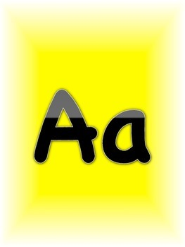 ABC Flashcards or Posters