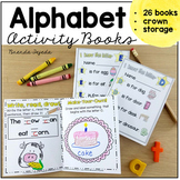 ABC- Foldable alphabet activity books!