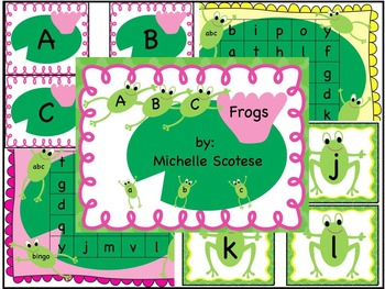 ABC Frogs