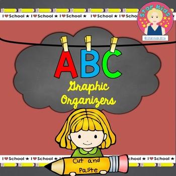 ABC Graphic Organizers {Cut-n-Paste}