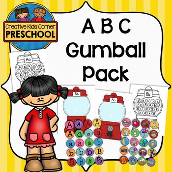 ABC Gumball Packet