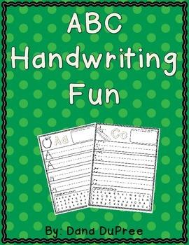 ABC Handwriting Fun