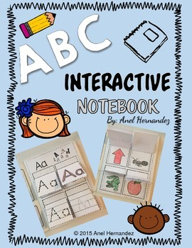 ABC Interactive Notebook - Full Version