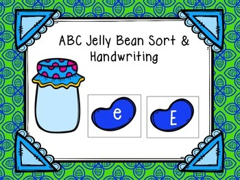ABC Jelly Bean Sort