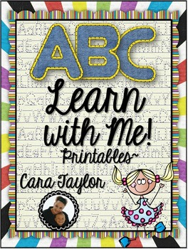 ABC Learn with Me Alphabet Printables for Young Learners (