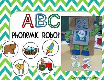 ABC Beginning Sounds Robot